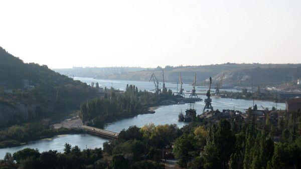 Устье реки Черной в Инкермане