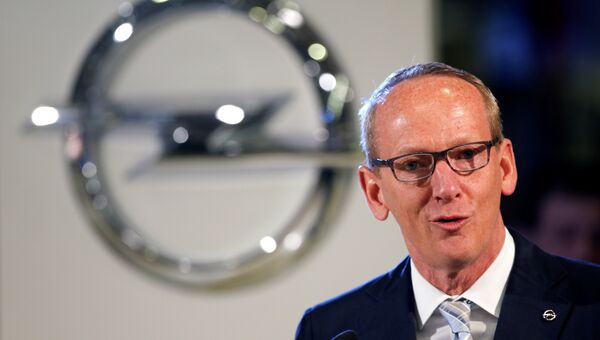 Глава немецкого автоконцерна Opel Карл-Томас Нойманн. Архивное фото