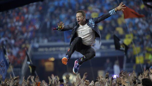 Певец Coldplay Крис Мартин. Архивное фото