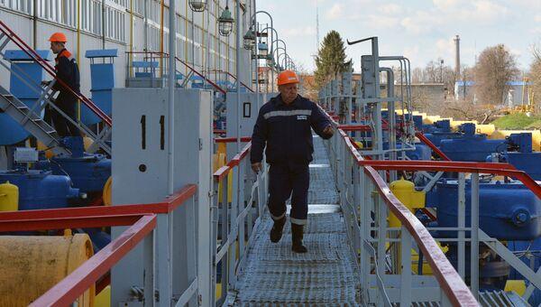 Газокомпрессорная станция на Украине. Архивное фото