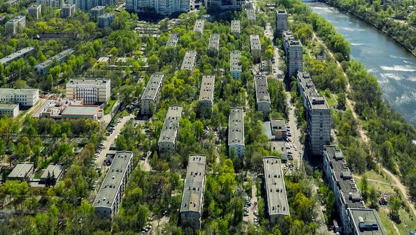 Пятиэтажные дома, включенные в программу реновации в Москве. Архивное фото
