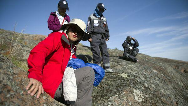 Экологическая вахта китайских географов на острове Соммерс