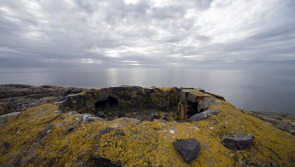 Разрушенная батарея, остров Соммерс