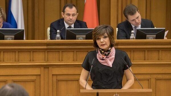 Уполномоченный по правам ребенка Московской области Ксения Мишонова
