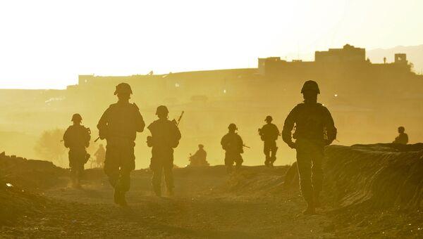 Американские военнослужащие в Афганистане. Архивное фото