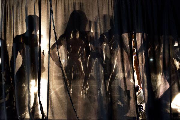 Участницы соревнования по бодибилдингу Miss South Africa Xtreme в ЮАР