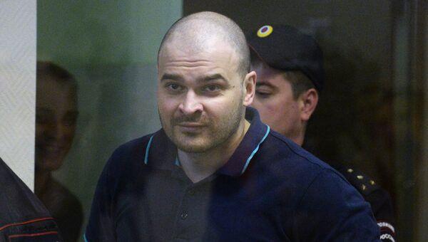 Максим Марцинкевич (Тесак) в Бабушкинском суде Москвы. Архивное фото