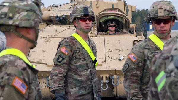 Американские военные в Литве. Архивное фото