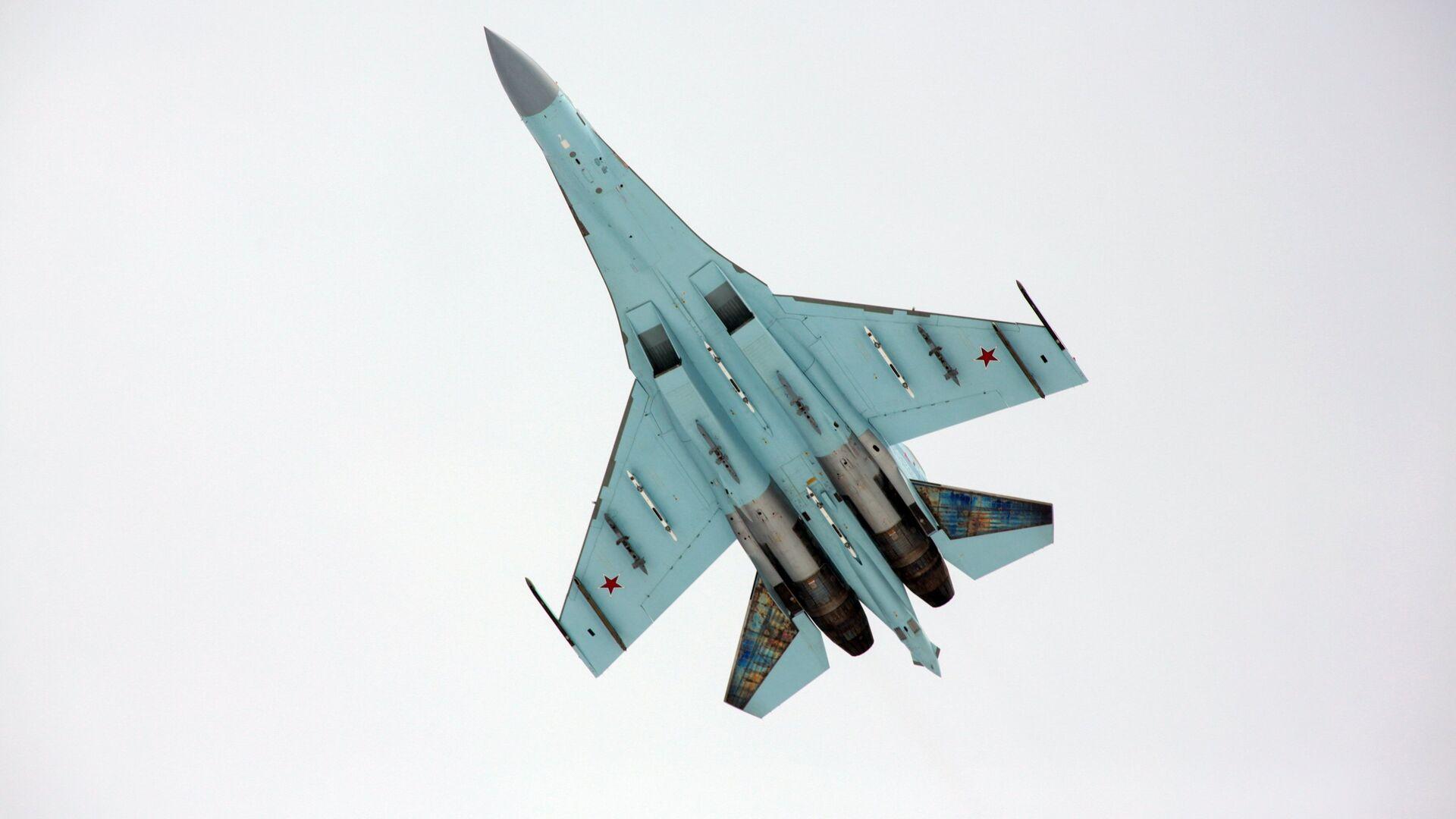 Многоцелевой истребитель Су-27 - РИА Новости, 1920, 25.09.2020