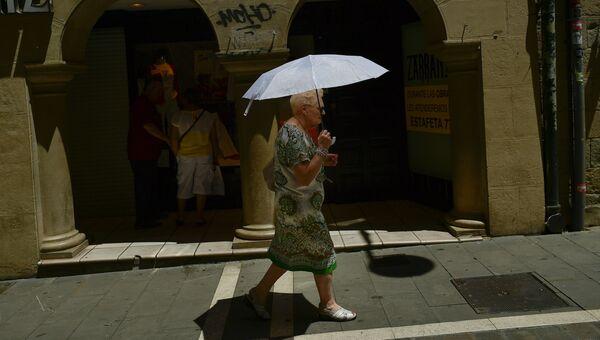 Женщина в Испании. Архивное фото