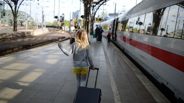 Девочка с на вокзале
