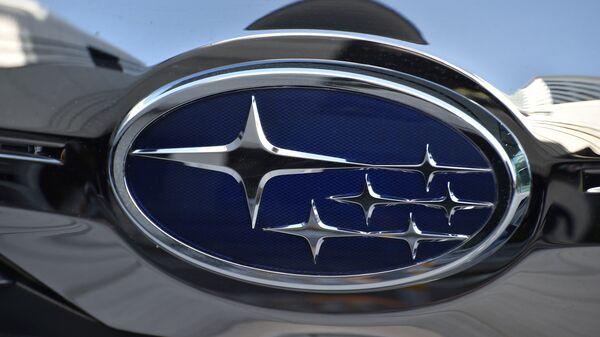 Эмблема Subaru. Архивное фото
