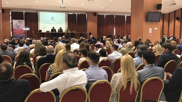 Мероприятие греко-российской торговой палаты в Афинах