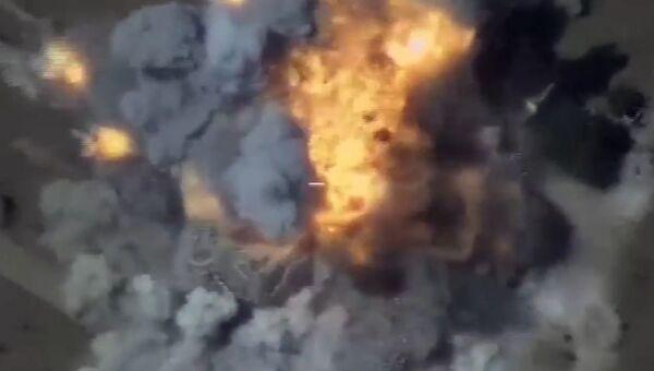 Удары по позициям ИГ в Сирии. 23 июня 2017