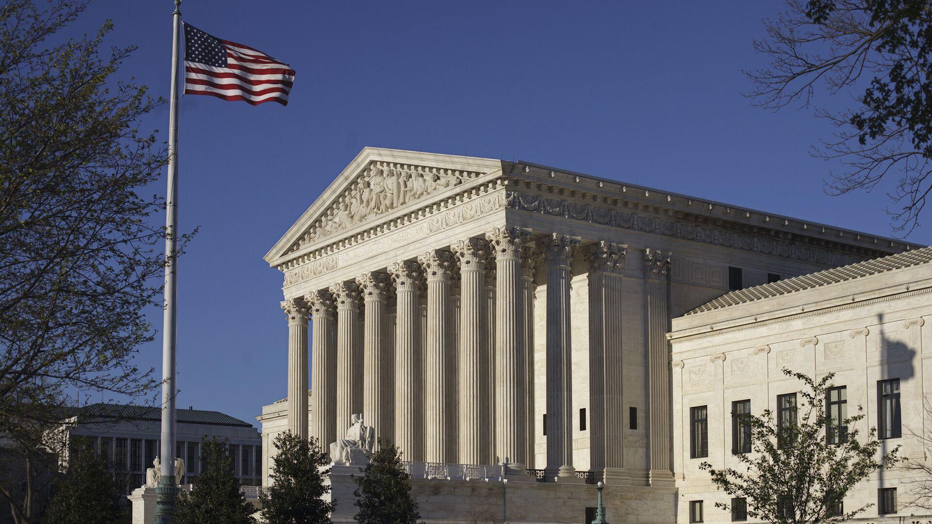 Здание Верховного суда в Вашингтоне - РИА Новости, 1920, 09.12.2020