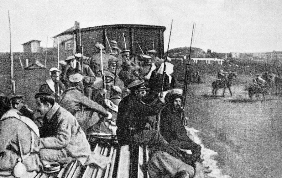 Солдаты возвращаются домой
