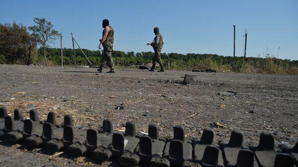 Ополченцы Луганской народной республики