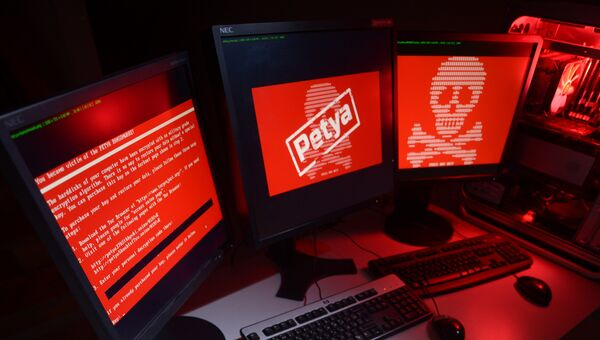 Атака вируса-вымогателя Petya. Архивное фото