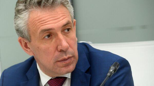 Председатель Внешэкономбанка Сергей Горьков. Архив
