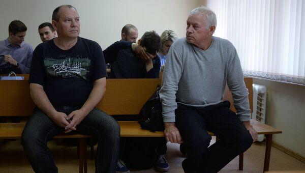 Рассмотрение дела обвиняемых Владимира Мартыненко и Владимира Леденева в гибели главы компании Total К. де Маржери
