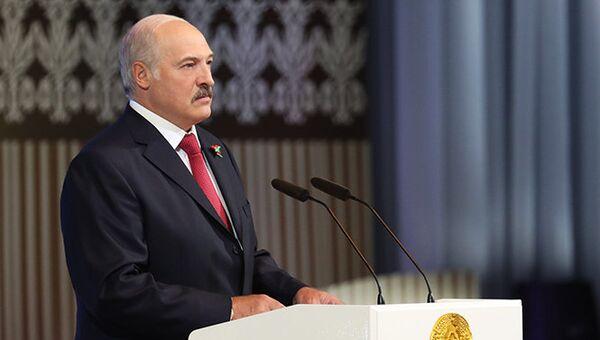 Выступление Александр Лукашенко на торжественном собрании в честь Дня Независимости Белоруссии. 1 июля 2017