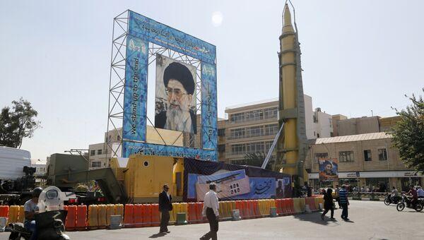 Иранская баллистическая ракета. Архивное фото