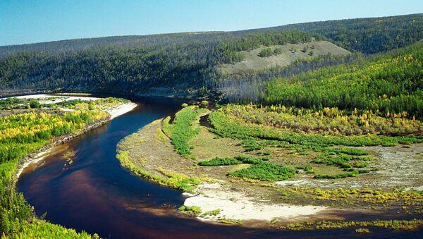 Река Лена. Архивное фото