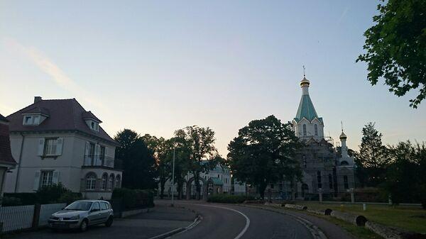 Русский храм Всех святых в Страсбурге