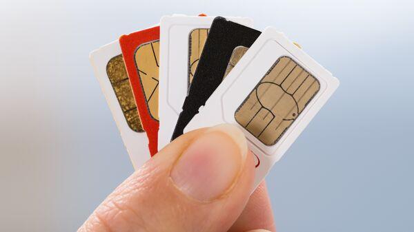 Сим-карты для мобильного телефона