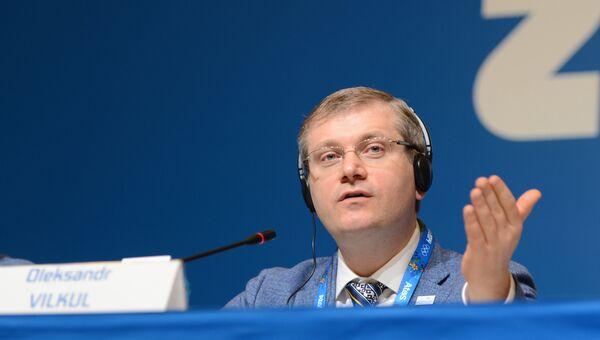 Исполняющий обязанности вице-премьер министра Украины Александр Вилкул. Архивное фото