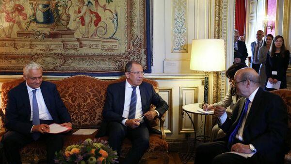 Визит главы МИД РФ С. Лаврова в Париж