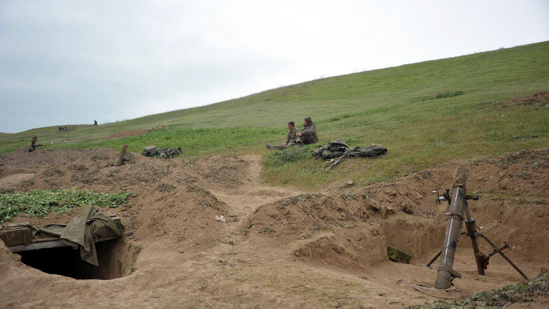 Ситуация в зоне карабахского конфликта - РИА Новости, 1920, 29.09.2020