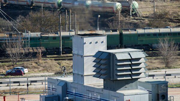 Газотурбинная электростанция в Крыму