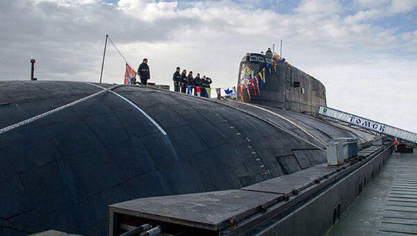 Атомная подводная лодка Томск