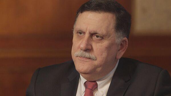 Глава президентского совета Ливии Файез Саррадж