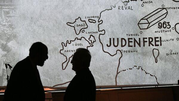 Церемония зажжения свечей, посвященная Международному дню памяти жертв Холокоста. Архивное фото