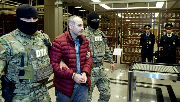 Блогер Лапшин в Баку. Архивное фото