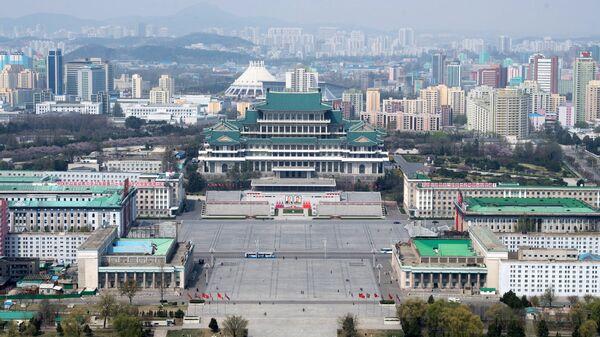 Вид на Пхеньян