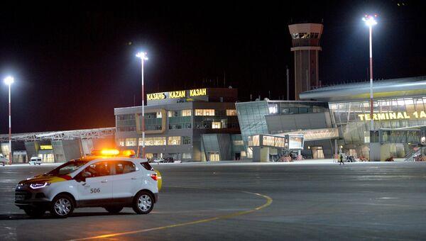 Терминал Международного аэропорта Казань. Архивное ыото