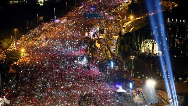 Шествие в Стамбуле 15 июля 2017 года