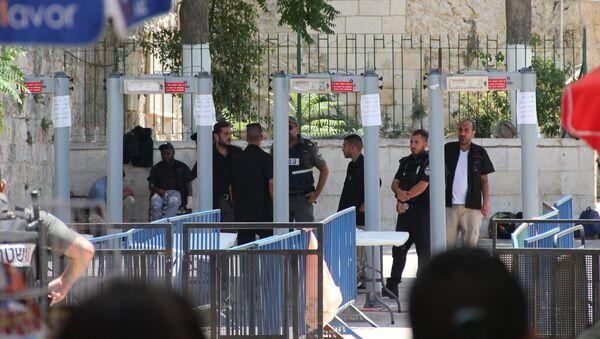 Металлодетекторы на входе на Храмовую гору в Иерусалиме
