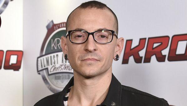Участник американской группы Linkin Park Честер Беннингтон. Архивное фото