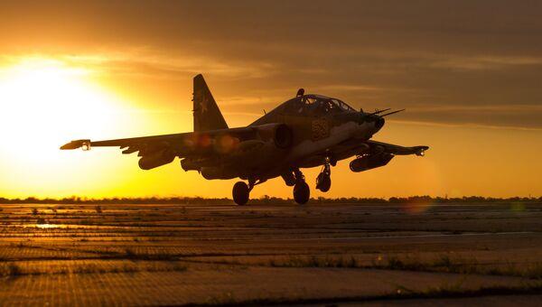 Штурмовик Су-25СМ3 . Архивное фото