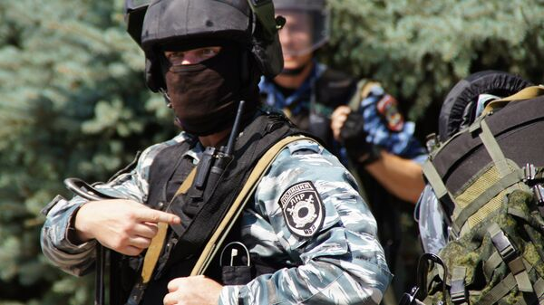 Полиция в Луганске. Архивное фото
