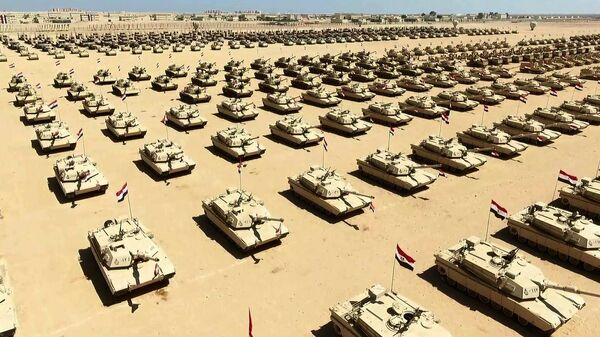 Военная база в Египте