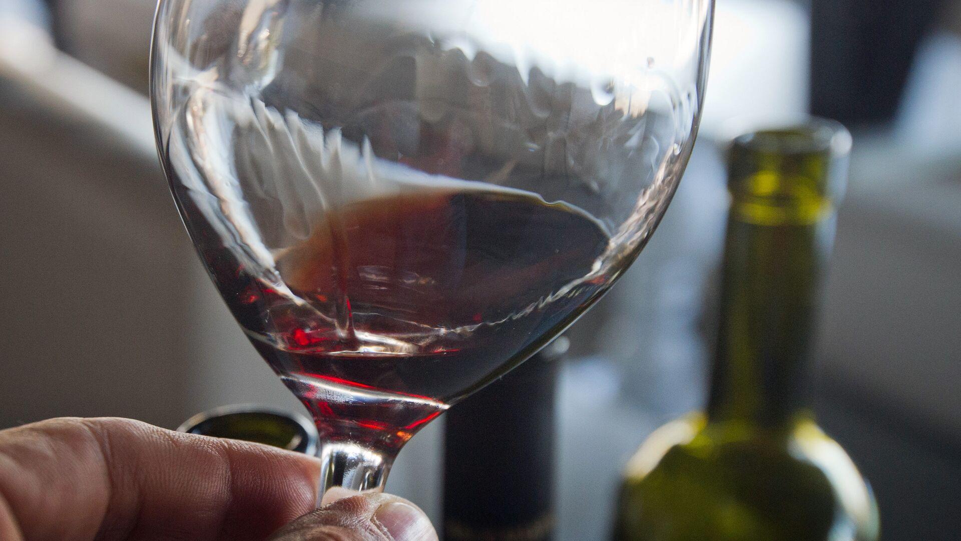 Дегустация вин на винно-гастрономическом фестивале In Vino Veritas в Коктебеле. 22 июля 2017 - РИА Новости, 1920, 26.11.2020