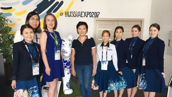 Жительница Астаны Ардак Аупбаева стала 300-тысячным посетителем павильона России на ЭКСПО-2017