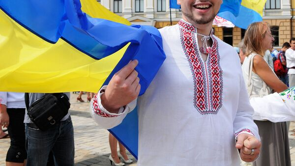 Парад украинских вышиванок