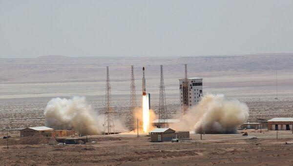 Ракетные испытания в Иране. Архивное фото