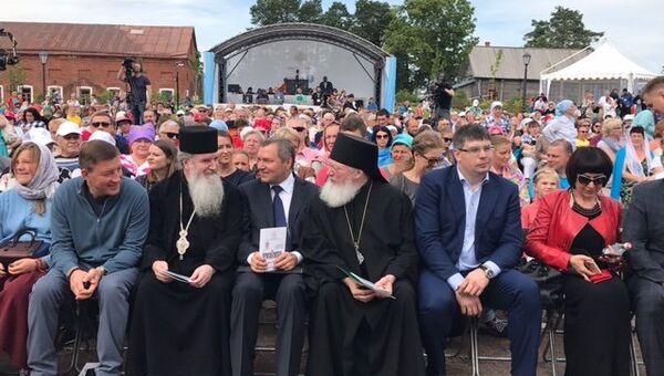 Открытие III международного православного певческого фестиваля Просветитель на Валааме